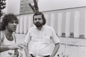 Setaro e Artur Carmel em 1983 Foto: Valber Carvalho