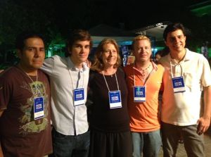 Jose Romero Carrillo, Pedro Azevedo, Susana Schild, Juan Pablo Russo e Paulo Henrique Siva