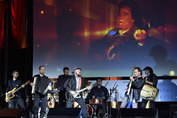 Banda Galpão se apresenta em homenagem a Teixeirinha. Foto: Edison Vara/Agência PressPhoto