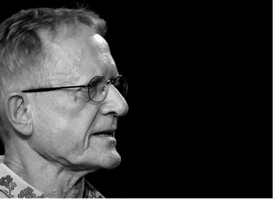 Jean-Claude Bernardet, em curso no Santander cultural, setembro de 2008