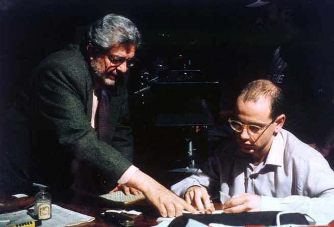 Scola e o ator Rolando Ravello